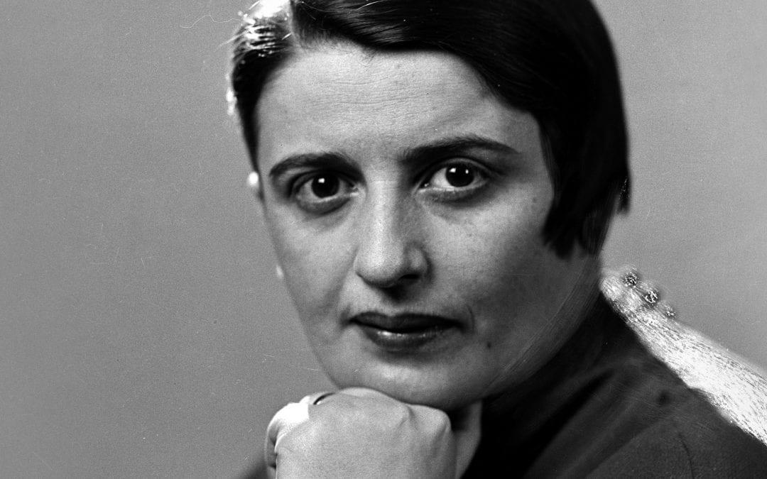 A escritora Ayn Rand